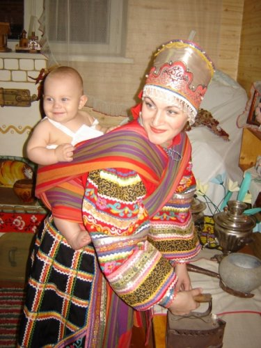 Стильная слингомама Елена Кондратьева, Номинация Рустик